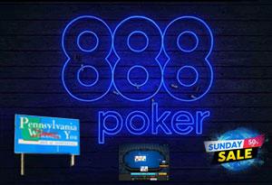 Пенсильвания, новый клиент, маркетинг 888 Покер