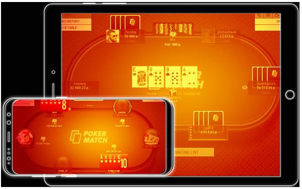 Андроид клиент для мобильного и планшета PokerMatch