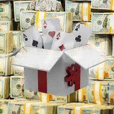 бонусы в покер