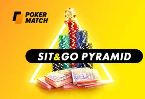 PokerMatch запускает турниры Sit&Go Pyramid