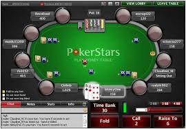 игровой стол PokerStars